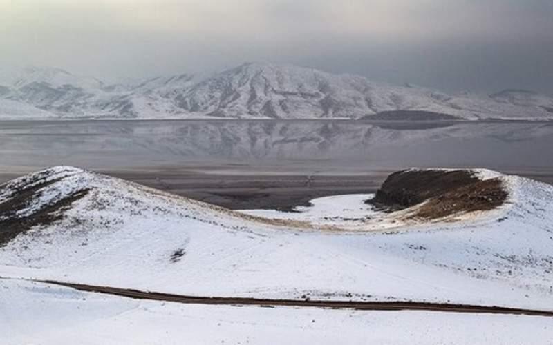 کاهش بیش از ۵۵ سانتیمتری تراز دریاچه ارومیه
