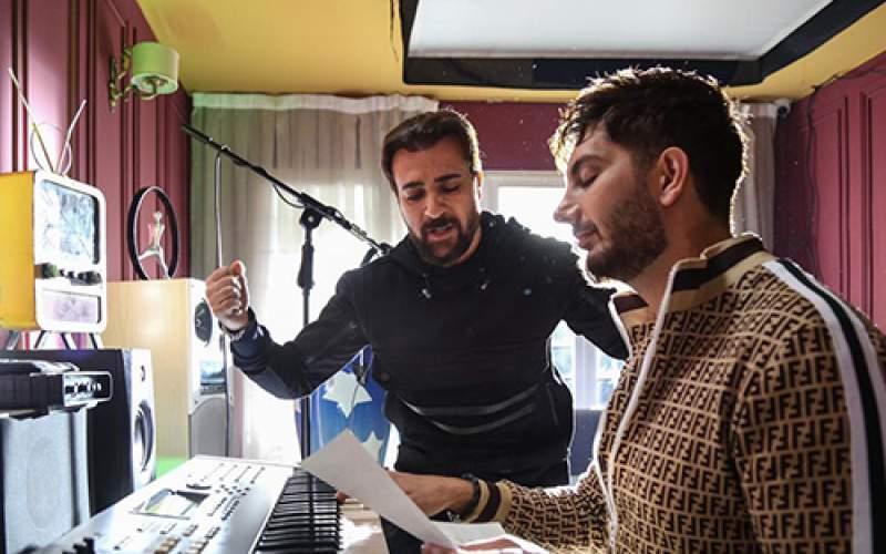 احمد مهرانفر خواننده شد /عکس