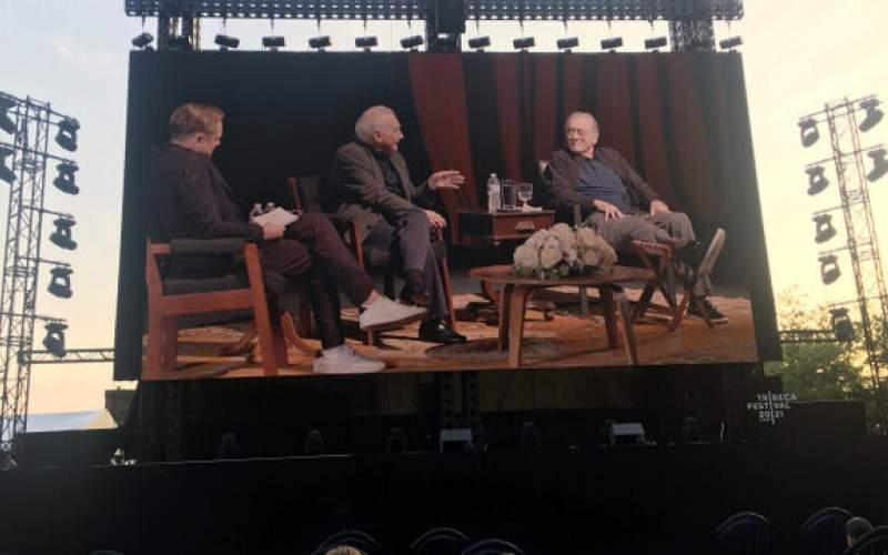 مصاحبه «دی کاپریو» با «اسکورسیزی» و «دنیرو»