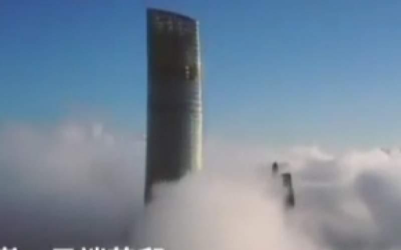 افتتاح بلندترین هتل جهان در میان ابرها