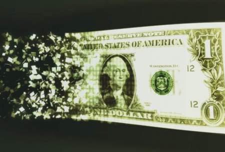 پس از چهار صعود متوالی ارزش دلار کاهش یافت