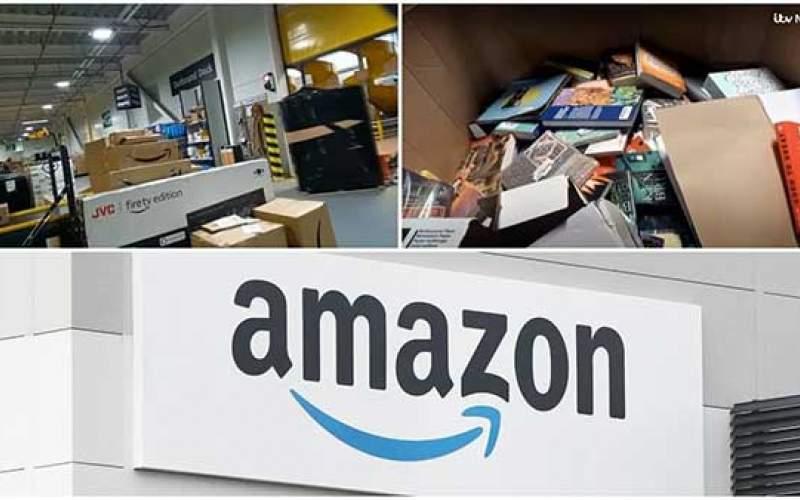 آمازون کتابهای فروش نرفته رامعدوم میکند