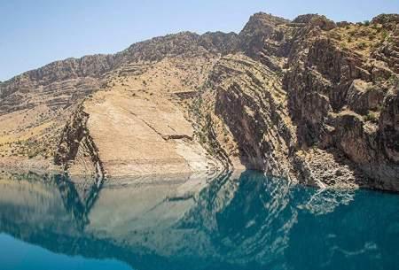 کاهش آب سد شهیدعباسپور خوزستان