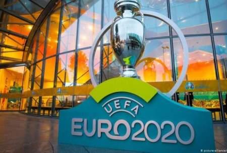برنامه کامل مرحله یک هشتم نهایی یورو ۲۰۲۰