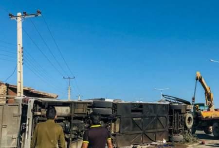 واژگونی اتوبوس؛ پنج سرباز معلم جان باختند