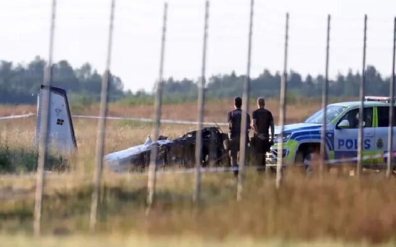 ۹ کشته در پی سقوط هواپیما در سوئد
