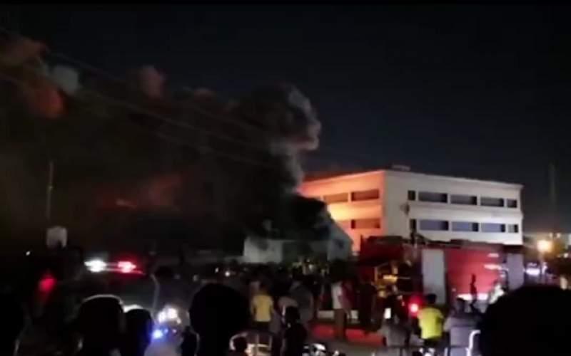آتشسوزی مرگبار در بیمارستانی در جنوب عراق