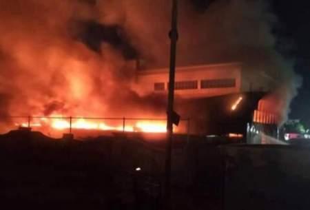 ۸۸ کشته در آتش سوزی یك بیمارستان در بغداد