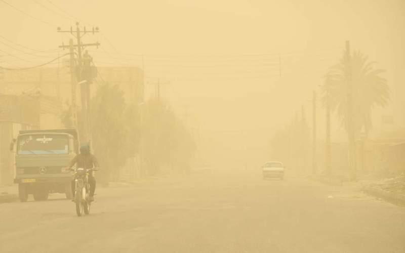 غلظت غبار در زاهدان به ۵۱برابر حد مجاز رسید
