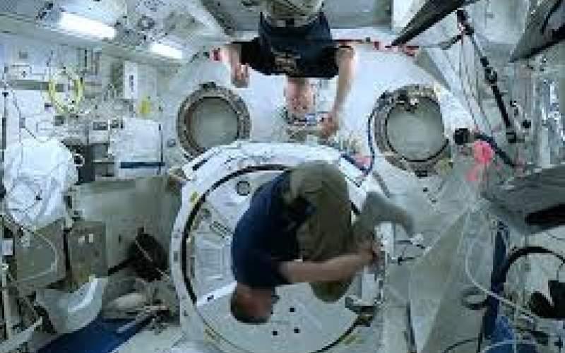آزمایش چرخش در ایستگاه فضایی بینالمللی