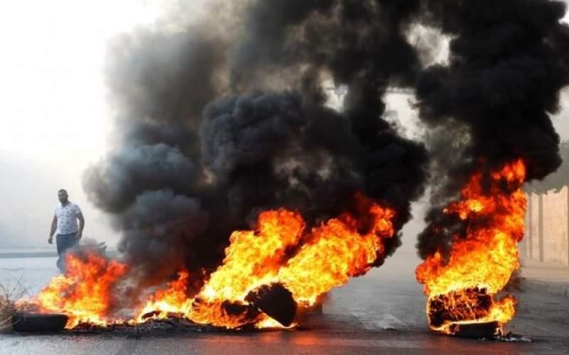 تظاهرات شهروندان لبنانی پس از انصراف حریری