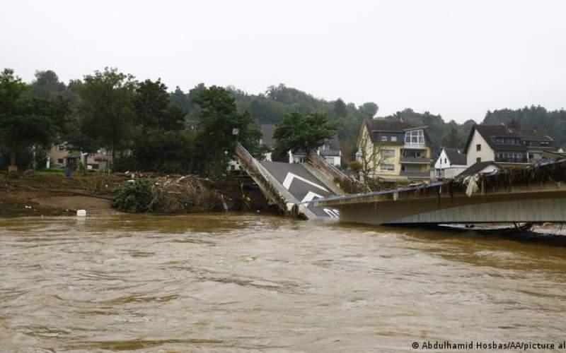 وضعیت فاجعه بار در غرب آلمان