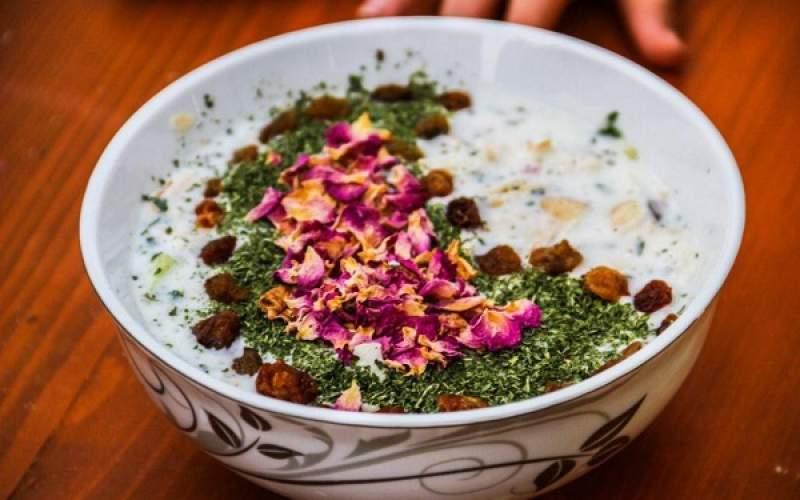 آب دوغ خیار، غذای لاکچری