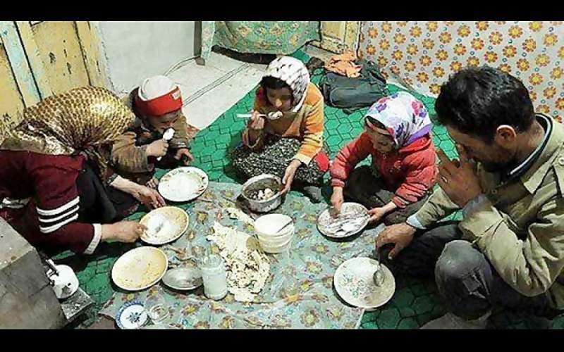 تهیه یک وعده غذای گرم معمولی برای خانواده کارگری سخت  است