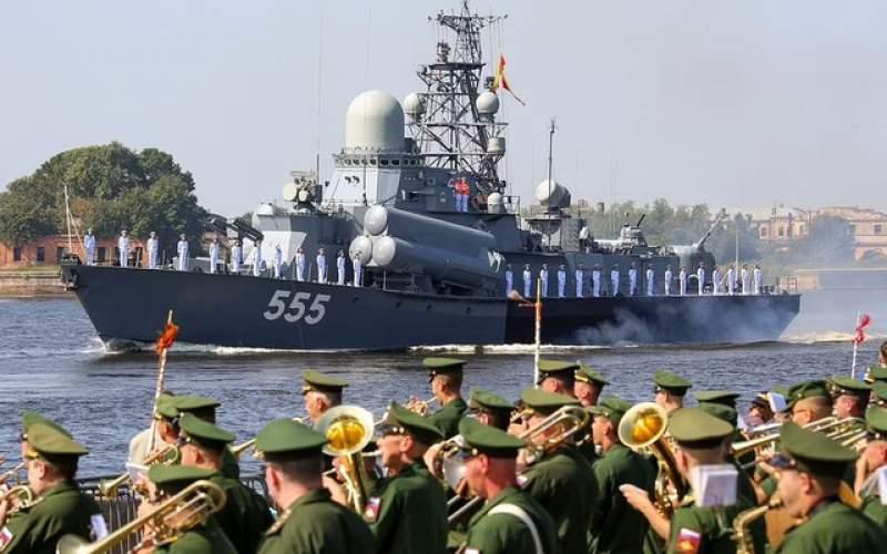 قدرت نمایی ناوگان دریایی پوتین