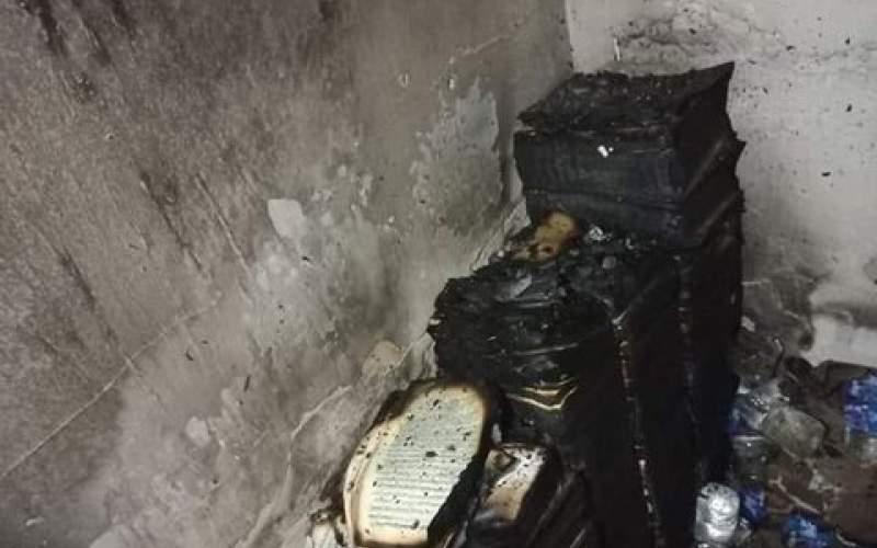 دو کتابخانه مهم بغداد طعمه حریق شد