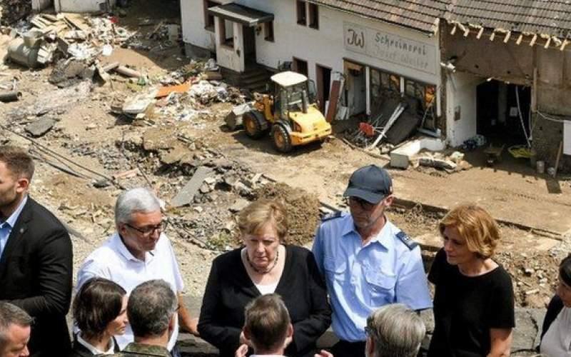 حیرت از میزان خرابیهای سیل در آلمان