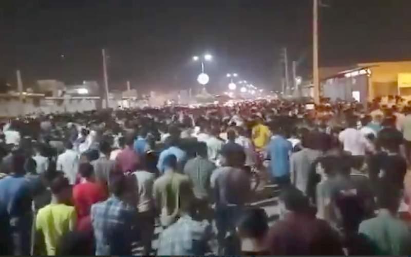 گزارشی از چهارمین شب اعتراضات در خوزستان