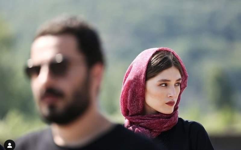 نویدمحمدزاده و فرشتهحسینیازدواج کردند/عکس