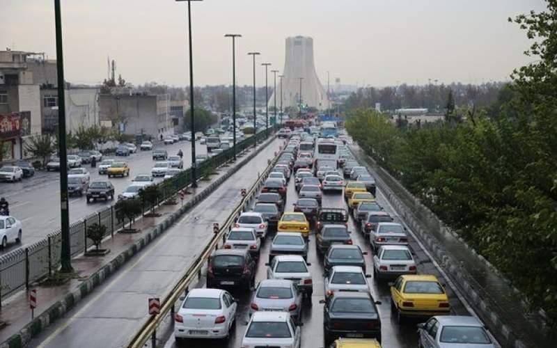 وضعیت ترافیک پایتخت در اولین روز از تعطیلات