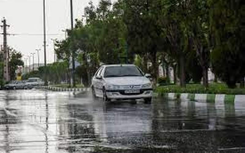 رگبار باران در برخی نقاط کشور طی امروز و فردا