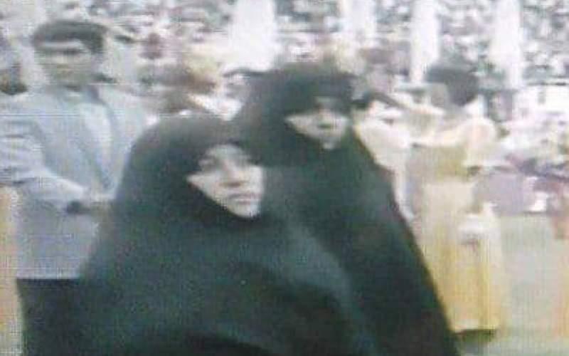 رژه زنان ایرانی با چادر در بازیهای آسیایی پکن
