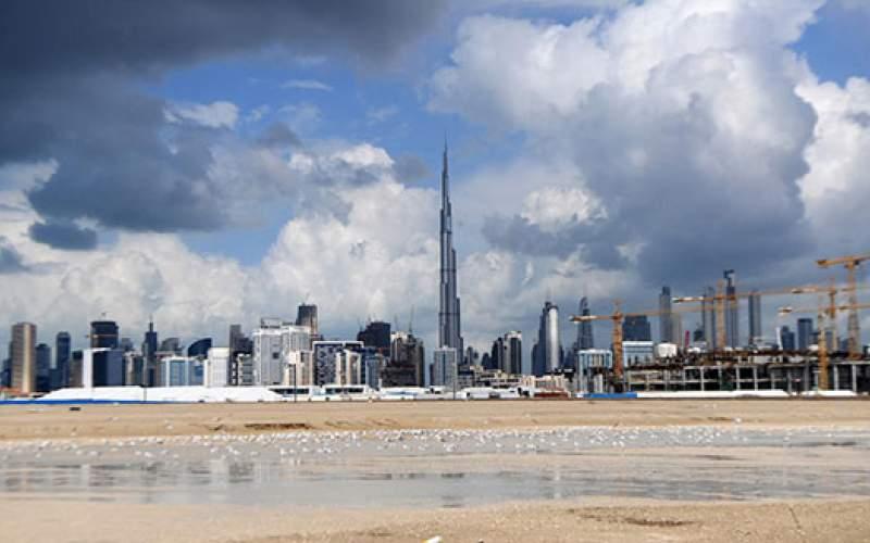 دبی برای مقابله با گرما باران مصنوعی ساخت