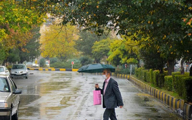 بارش باران های رگباری در 7 استان کشور