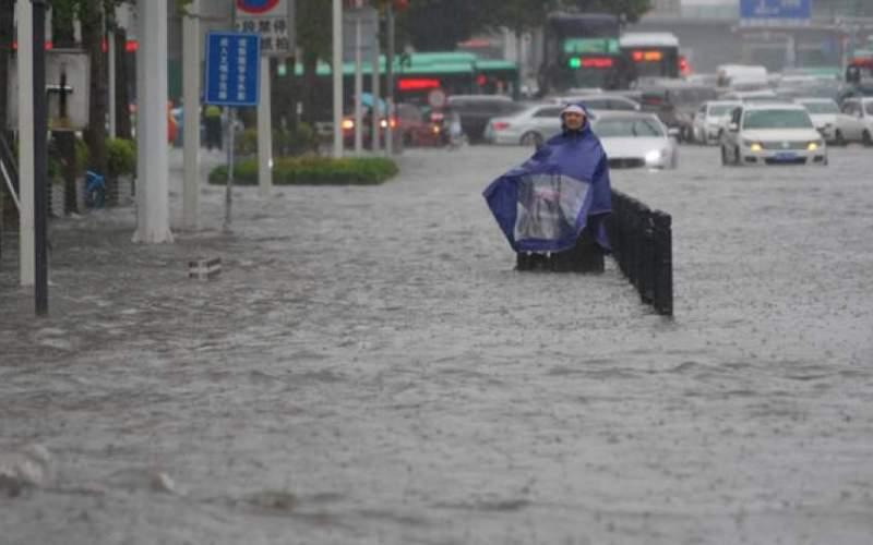 بارندگی در چین هزاران نفر را آواره کرد