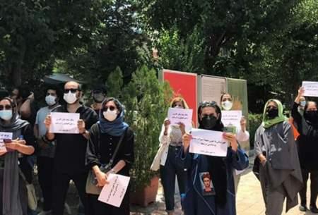 تجمع هنرمندان درحمایت ازمردم خوزستان/تصاویر