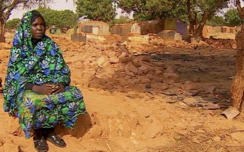خشونتهای دارفور هزاران تن را آواره کرده است