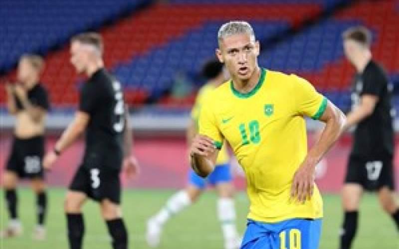 فوتبال المپیک؛ پیروزی پرگل برزیل بر آلمان