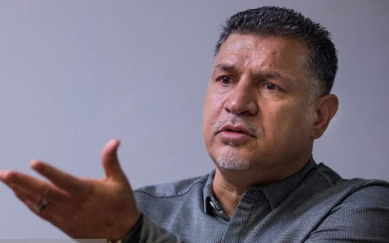 استوری علی دایی درباره مشکلات خوزستان