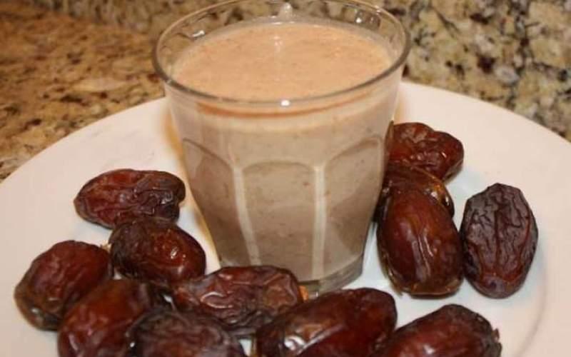 ترکیب شیر و خرما از کمخونی جلوگیری میکند