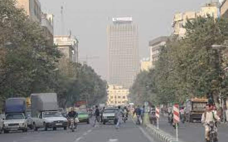 افزایش غلظت آلاینده ازن در هوای پایتخت