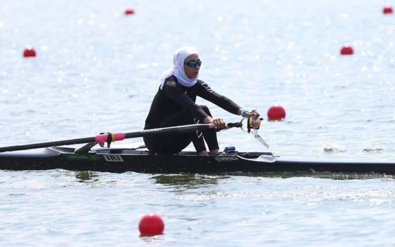 صعوددختر قایقران ایران به مرحله یک چهارم نهایی
