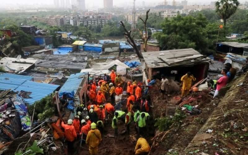 رانش زمین در هند ۶۷ کشته بر جای گذاشت