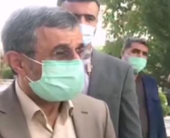 محمود احمدی نژاد: آزادی نزدیک است/فیلم
