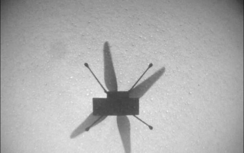 نبوغ برای دهمین بار بر فراز مریخ پرواز میکند