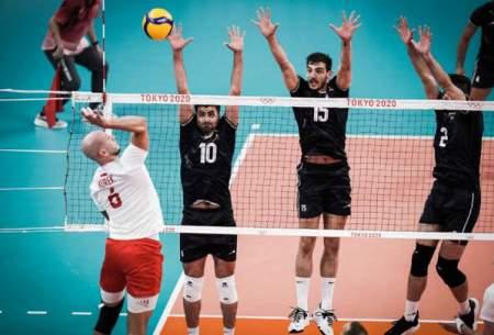 شروع طوفانی والیبال ایران در المپیک