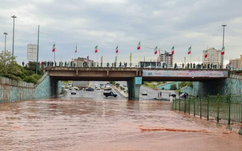 احتمال بارش های شدید و طغیان رودخانه ها