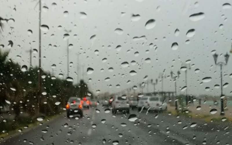 بارش باران در برخی از مناطق کشور