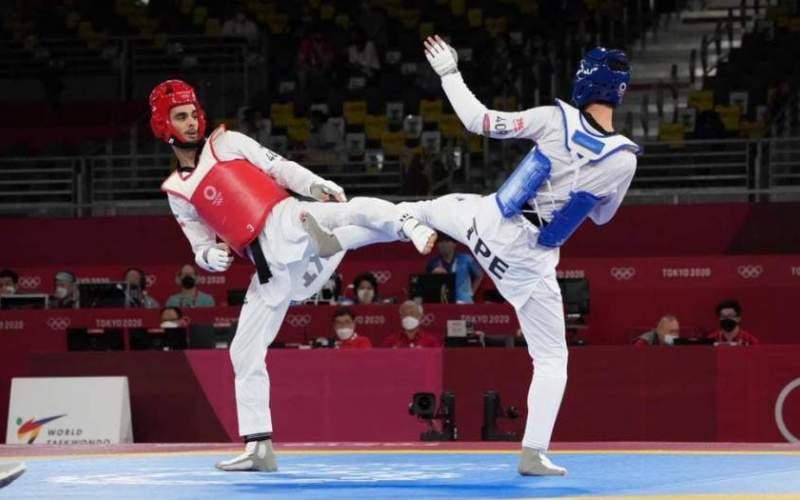 حسینی از صعود به نیمه نهایی المپیک باز ماند