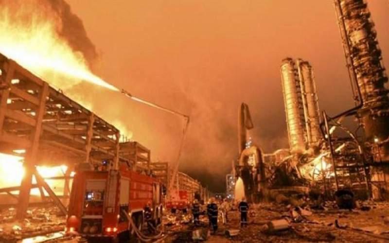آتشسوزی در چین با ۴۰ کشته و مجروح
