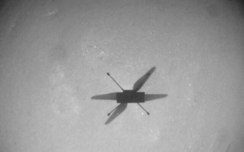 ۱۰ پرواز موفق در مریخ