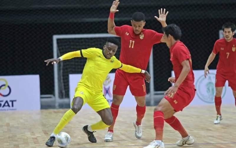 پیروزی تیم فوتسال تایلند با قضاوت داوران ایرانی
