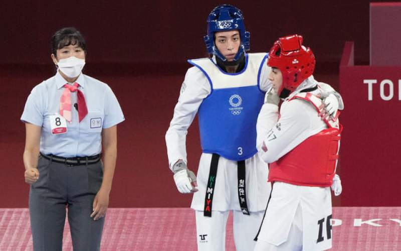 کیمیا علیزاده به مدال المپیک توکیو نرسید