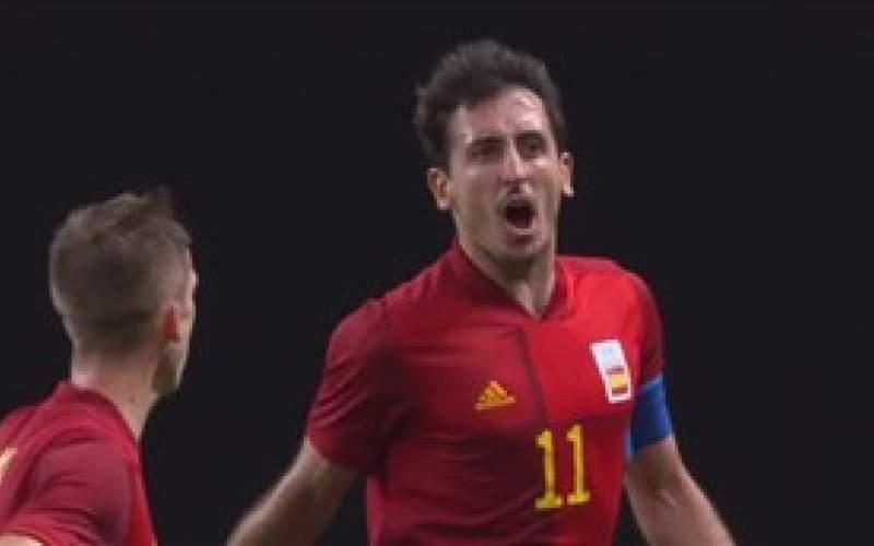 فوتبال المپیک؛ پیروزی سخت اسپانیا بر استرالیا
