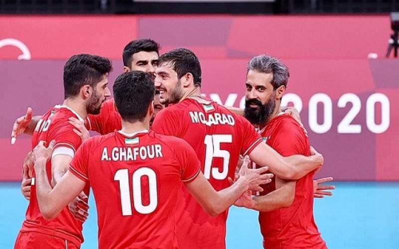 دشت دومین پیروزی والیبال ایران