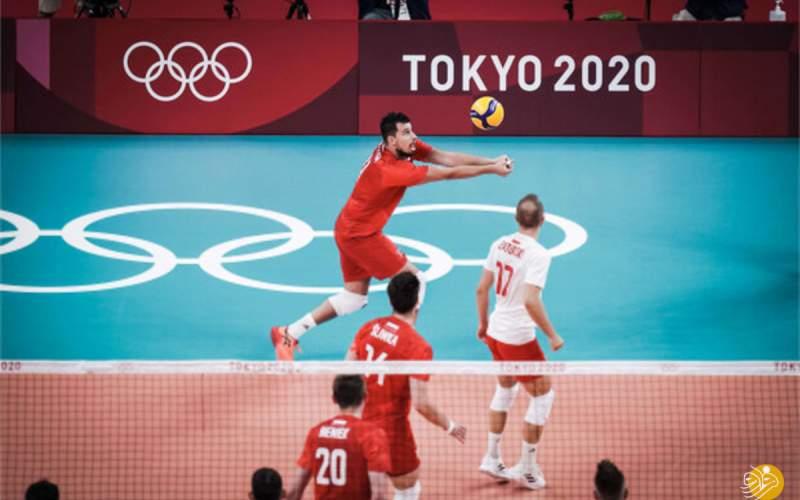 والیبال لهستان نبرد همگروهای ایران را برد